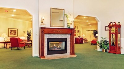 Lobby at Schaefer-Shipman Funeral Home