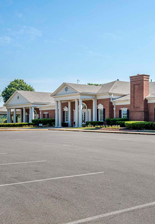 Front exterior at Memphis Funeral Home and Memorial Gardens