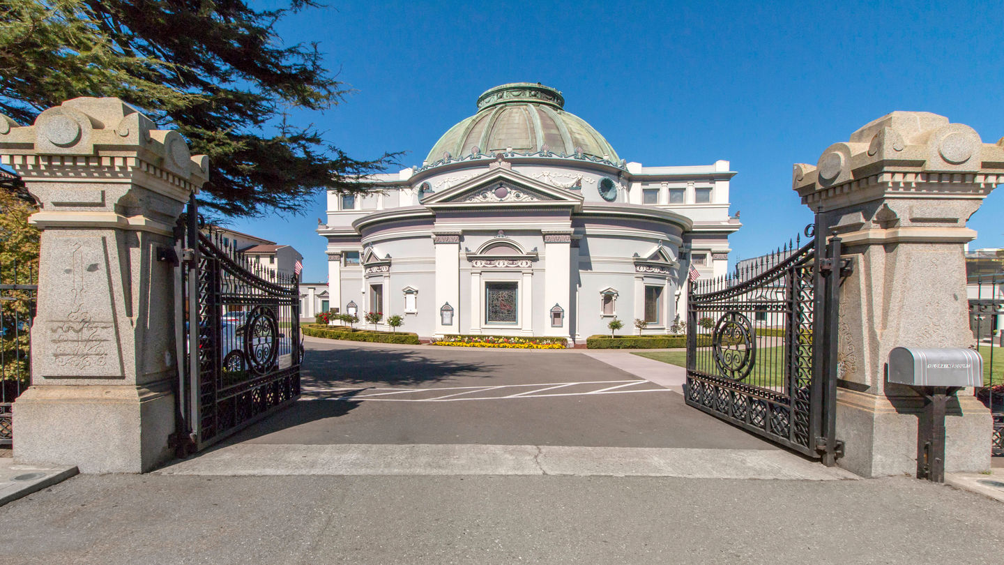 Front exterior at San Francisco Columbarium & Funeral Home