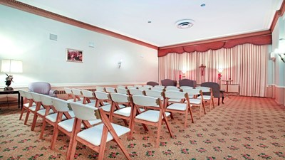 Chapel at John J. Healey Funeral Home