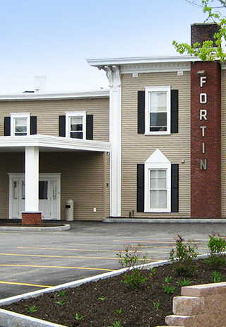 Front exterior at The Fortin Group