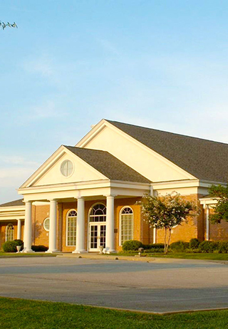Front Exterior at George A. Smith & Sons Funeral Home
