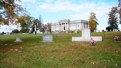 Mausoleum at Woodmere Memorial Park