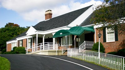 Front exterior at Jones, Rich & Barnes Funeral Home