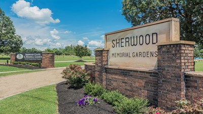 Sherwood Chapel and Memorial Gardens Entrance