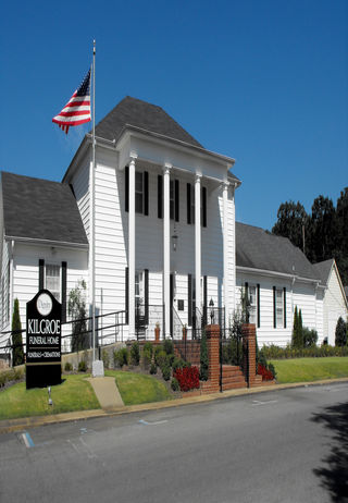 Front exterior at Kilgroe Funeral Home