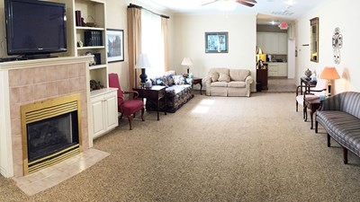 Family visitation room at Bratcher Funeral Home