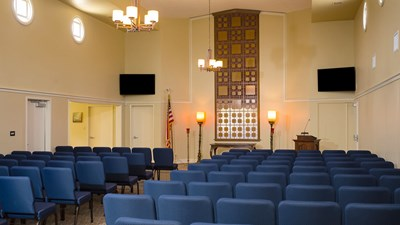 Chapel at Miller Mies Downey Mortuary