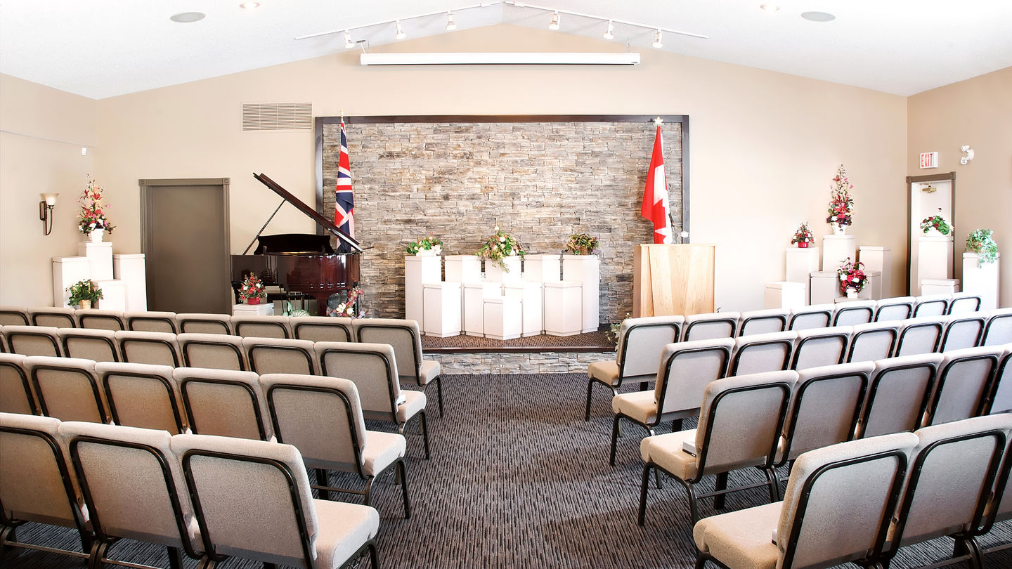 Chapel at South Calgary Funeral Centre and Crematorium