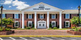 Front exterior at Berry Highland West Funeral Home