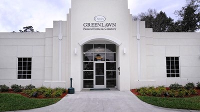 Front exterior at Hardage - Giddens Greenlawn Funeral Home and Cemetery