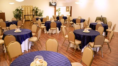 Celebration room at Robert Toale and Sons Funeral Home - Wiegand Chapel