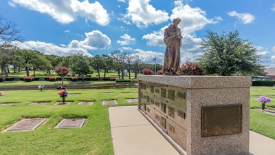 Columbarium at Shannon Rose Hill Funeral Chapel and Cemetery