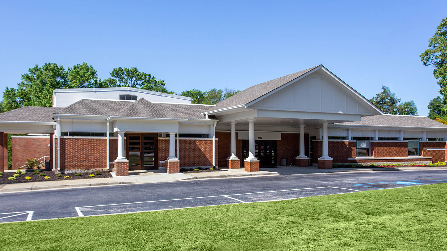 Front exterior at Dunbar Funeral Home - Devine Street Chapel