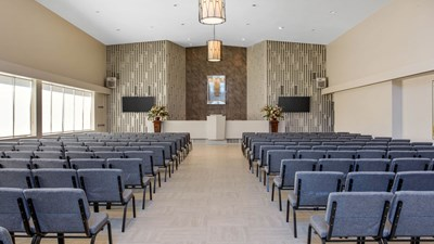 Dunbar funeral home devine funeral cremation - Modern funeral home interior design ...