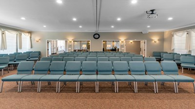 Chapel at Lombard Funeral Home