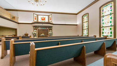 Chapel at Arch L. Heady and Son Funeral Home & Cremation Services
