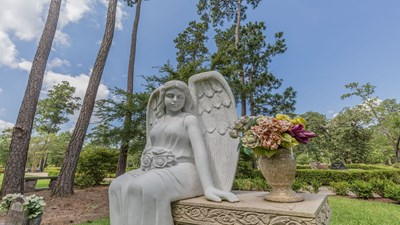 Cemetery grounds at Forest Park The Woodlands Funeral Home & Cemetery
