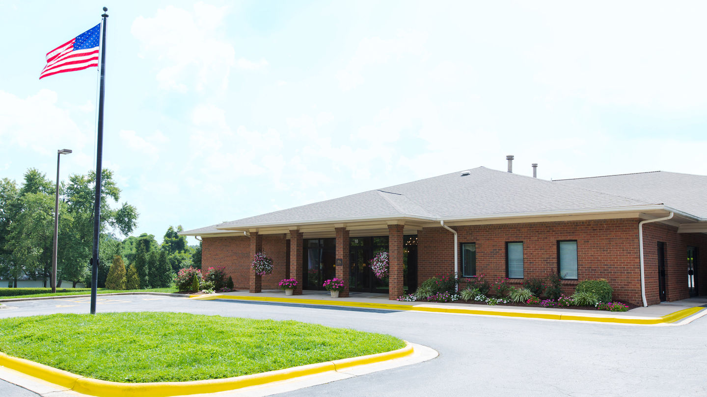 Front Exterior at Thomasville Funeral Home