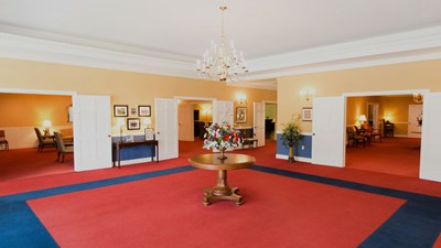 Lobby at Thomasville Funeral Home