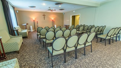 Chapel at H.C. Alexander Funeral Home