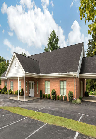 Front Exterior at Ivey Funeral Home & Rose Hill Burial Park