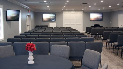 Chapel at Rockco Funeral Home (Montevallo)