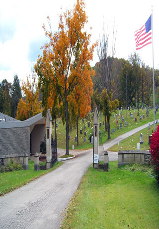 Cemetery Entrance at Ridgelawn Memorial Park