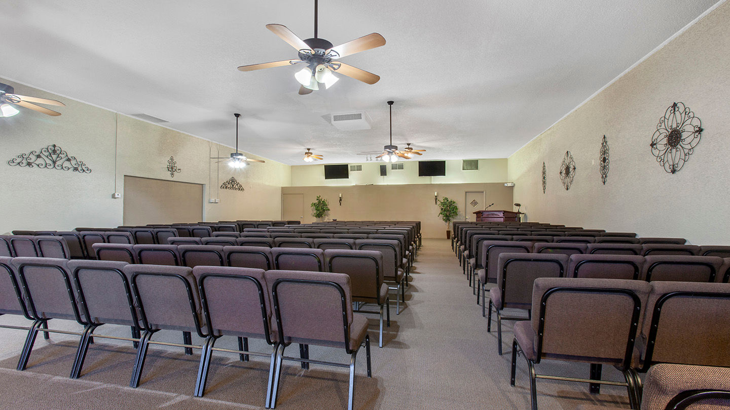 Chapel at Advantage Crystal Rose Funeral Home