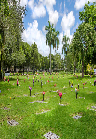 Cemetery Grounds at Caballero Rivero Dade South