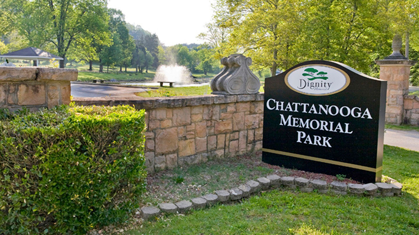 Entrance to  Chattanooga Memorial Park