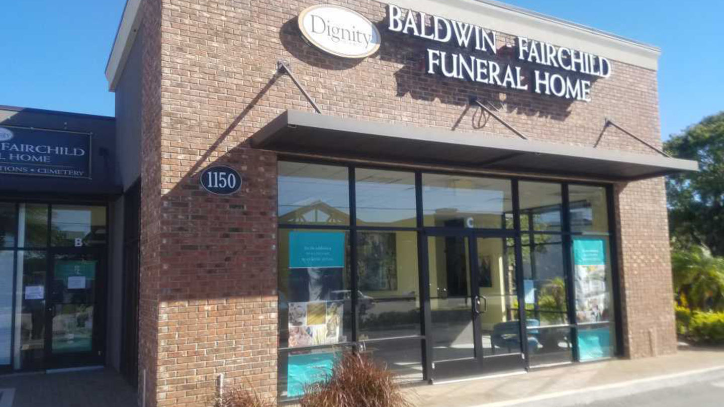 Front Exterior at Baldwin-Fairchild Ivanhoe Funeral Home