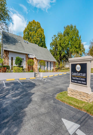 Front Exterior at Garden Sanctuary Funeral Home & Garden Sanctuary Cemetery