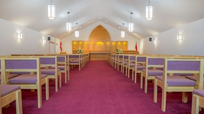 Chapel at Lahaie & Sullivan Cornwall Funeral Home - West Branch