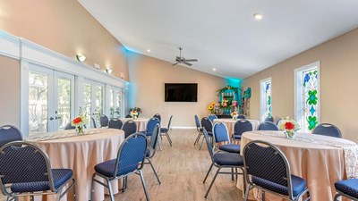 Reception Room at Garden Sanctuary Funeral Home & Garden Sanctuary Cemetery