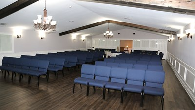 Chapel at Zoeller Funeral Home