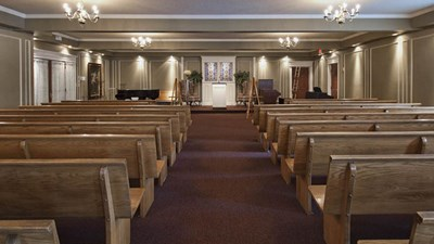 Chapel at Drum Funeral Home - Conover