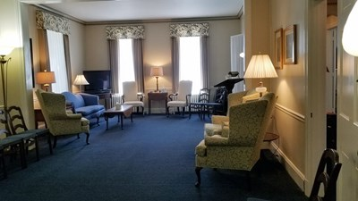 Sitting Area at Burgee-Henss-Seitz Funeral Home Inc.
