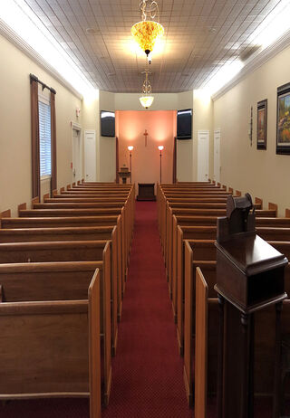 Chapel at McGilley & Frye Funeral Home & Cremation Service