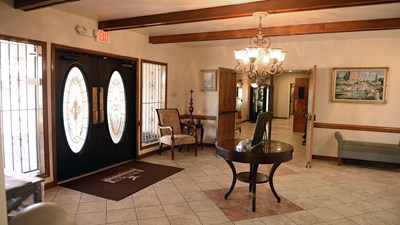 Lobby at Hillcrest Funeral Home
