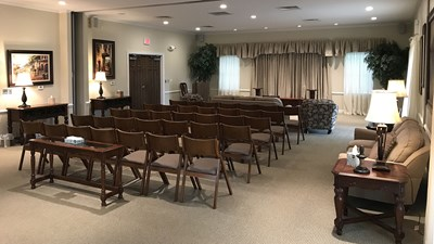 Chapel at Pixley Funeral Home