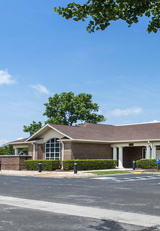 Front exterior building at Rosewood-Kellum Funeral Home