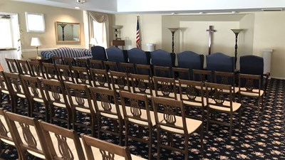 Chapel at Thos. L. Shinn Funeral Home