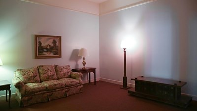 Visitation Room at Curtis and Son Funeral Home