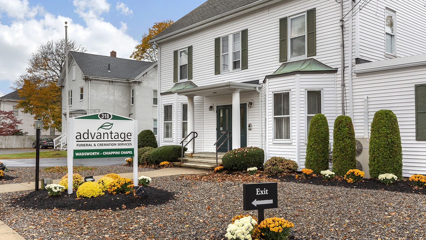 Front Exterior at Advantage Funeral & Cremation Services - Massachusetts