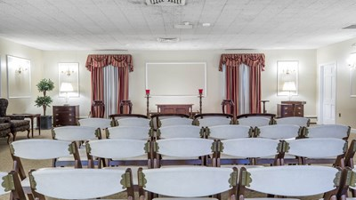 Main Chapel at Gillooly Funeral Home
