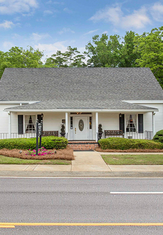 Front exterior building at Caughman-Harman Funeral Home - Chapin Chapel