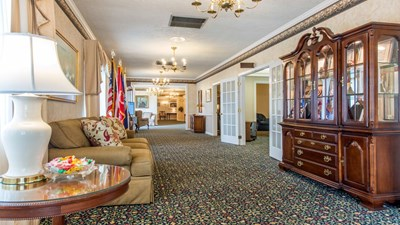 Lobby at H.P. Brandt Funeral Home Inc.