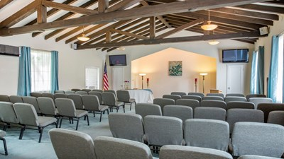 Chapel at Beardsley-Mitchell Funeral Home