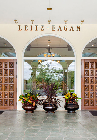 Exterior at Leitz-Eagan Funeral Home